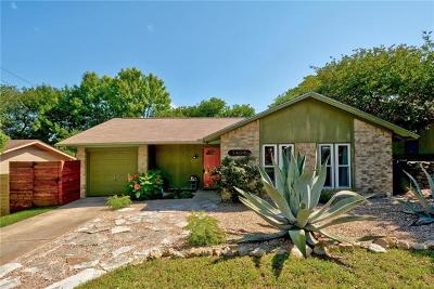 Hays County, Travis County, Williamson County Single Family Home Pending - Taking Backups: 3406 Plantation Rd