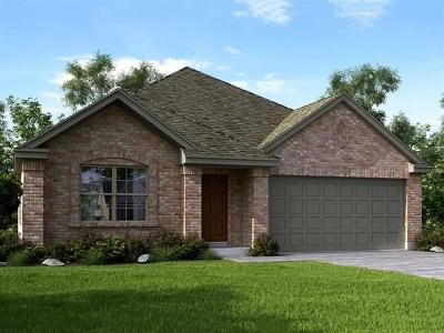 Round Rock Single Family Home For Sale: 2209 Hat Bender Loop