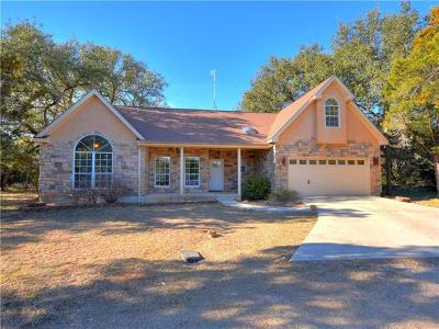 Wimberley Single Family Home Pending - Taking Backups: 3 Hickory Ct