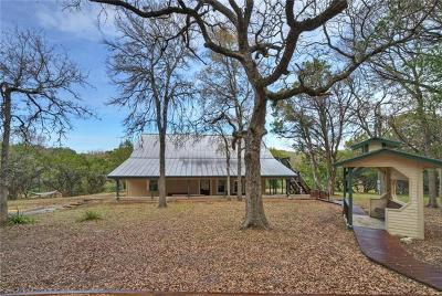 Wimberley Single Family Home Pending - Taking Backups: 606 Deer Lake Cv