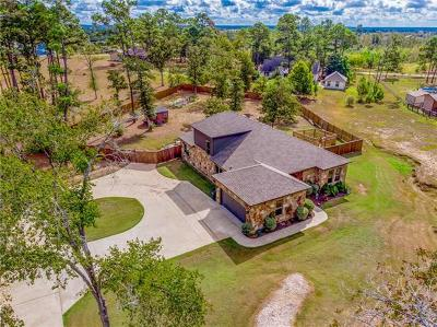 Bastrop Single Family Home For Sale: 539 McAllister Rd