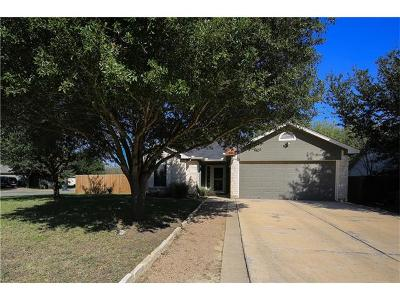 Kyle Single Family Home For Sale: 301 Zebra Dr