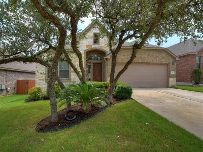 Cedar Park Single Family Home Pending - Taking Backups: 510 Cameron Cv