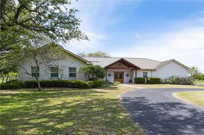 Marble Falls Single Family Home For Sale: 2900 Mormon Mill Rd