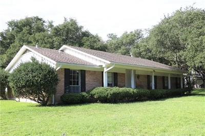 Travis County, Williamson County Single Family Home Pending - Taking Backups: 3801 Crowncrest Cv