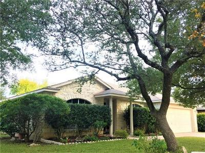 Round Rock Single Family Home For Sale: 3227 Arroyo Bluff Ln