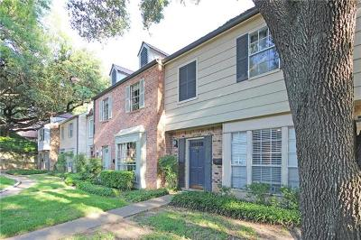 Austin TX Condo/Townhouse For Sale: $349,950