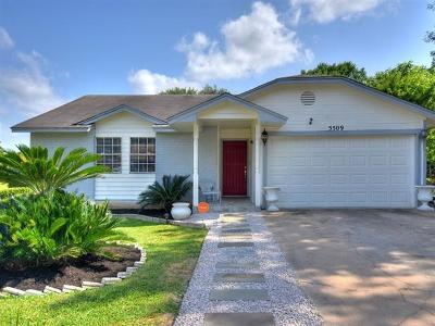 Austin Single Family Home For Sale: 5509 Hibiscus Dr