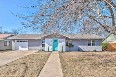 Travis County Single Family Home Pending - Taking Backups: 12504 Limerick Ave