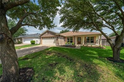 Round Rock Single Family Home For Sale: 3306 Cantera Way