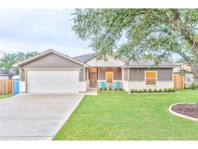 Lago Vista Single Family Home For Sale: 20608 Oak Ridge