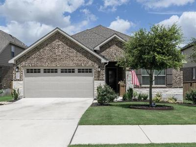 Round Rock Single Family Home For Sale: 3513 De Torres Cir