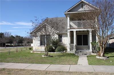 Cedar Park Single Family Home For Sale: 1800 Honey Creek Ln