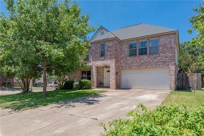 Cedar Park Single Family Home Pending - Taking Backups: 1401 Bullhill Cv