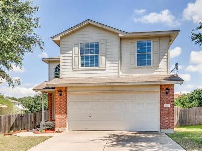 Round Rock Single Family Home For Sale: 1605 Plume Grass Pl