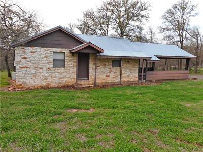 Cedar Creek Single Family Home Pending - Taking Backups: 182 Fawn Ridge Rd