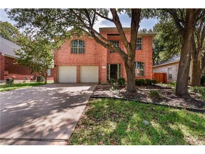 Round Rock Single Family Home For Sale: 4038 Honey Bear Loop