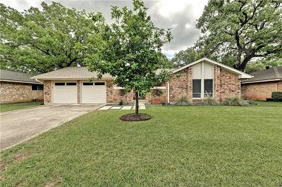 Single Family Home For Sale: 4600 Trail Crest Cir