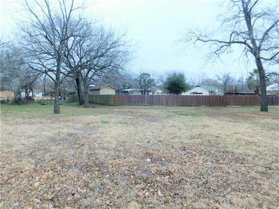 Elgin Residential Lots & Land For Sale: TBD S Avenue A