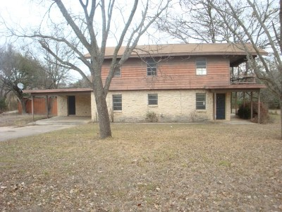 Burnet County Single Family Home For Sale: 133 Western Trl
