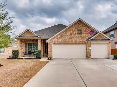 Cedar Park Single Family Home For Sale: 3204 Herrero Path