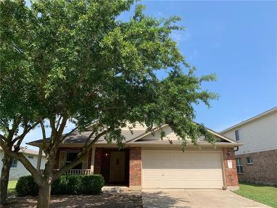 Hutto Single Family Home For Sale: 104 Whirling Eddy Cv
