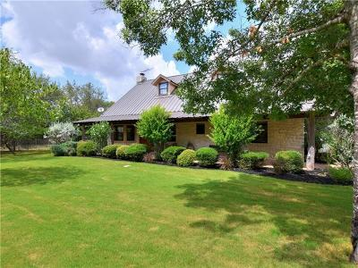 Marble Falls Single Family Home For Sale: 3702 Mormon Mill Rd