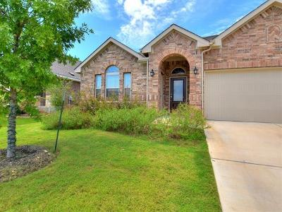 Georgetown Single Family Home For Sale: 1101 Fountain Grass Way