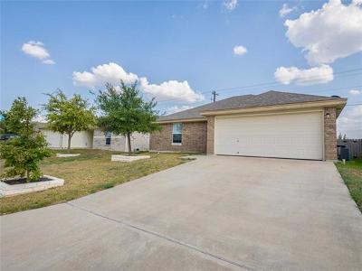 Jarrell Single Family Home For Sale: 212 Amber Ln