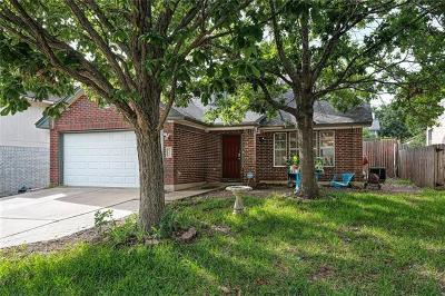 Round Rock Single Family Home Pending - Taking Backups: 2412 Roundabout Ln
