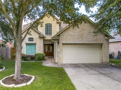 Cedar Park Single Family Home For Sale: 1305 Brighton Bend Ln
