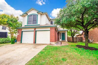Round Rock Single Family Home For Sale: 1712 Barilla Mountain Trl