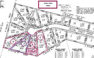Bastrop Residential Lots & Land Pending - Taking Backups: TBD Royal Pines