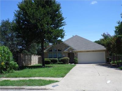 Cedar Park Single Family Home Active Contingent: 1800 Eclipse Cv