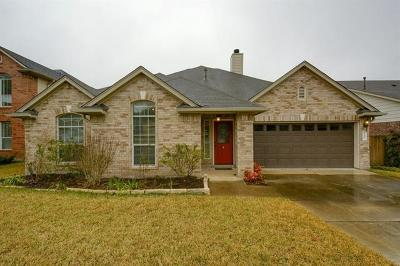 Cedar Park Single Family Home For Sale: 2321 Zoa Dr