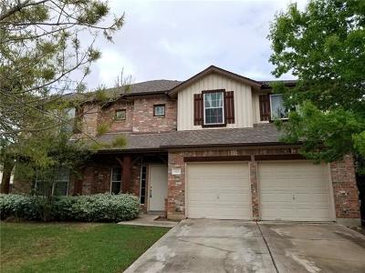 Manor Single Family Home For Sale: 13621 Glen Creek Ct