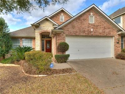Round Rock TX Single Family Home For Sale: $285,000