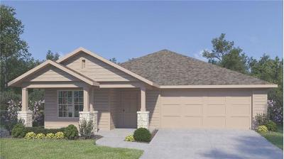 Hutto TX Single Family Home For Sale: $240,990