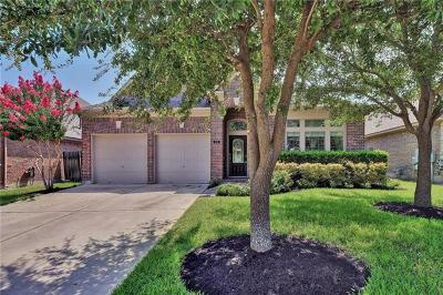 Hutto Single Family Home Pending: 516 Wiltshire Dr