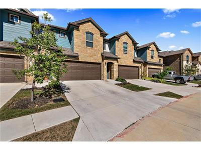 Round Rock Condo/Townhouse For Sale: 1001 Zodiac Ln #40