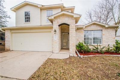 Pflugerville Single Family Home For Sale: 17505 Avena Valley Dr