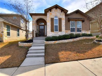 Round Rock Single Family Home For Sale: 661 Heritage Springs Trl