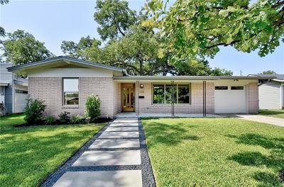 Austin Single Family Home For Sale: 1315 Yorkshire Dr