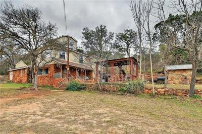 Burnet County Single Family Home For Sale: 213 Lazy Creek Ln