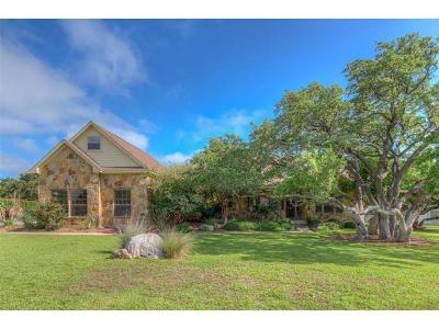 Burnet Single Family Home For Sale: 204 Circle Oaks Dr