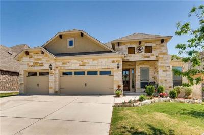 Pflugerville Single Family Home For Sale: 3805 Hidden Harbor Dr