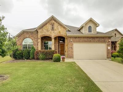 Round Rock Single Family Home For Sale: 1101 Dyer Crossing Way