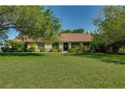 Leander Single Family Home For Sale: 123 Windemere