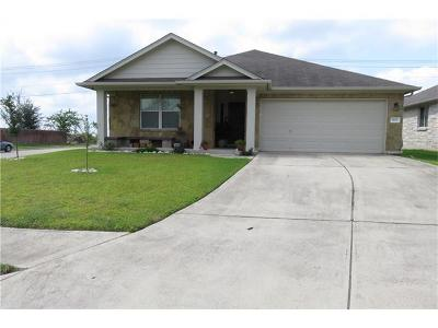 Buda Single Family Home For Sale: 1431 Stone Rim Loop