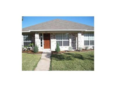 Pflugerville TX Single Family Home For Sale: $259,900